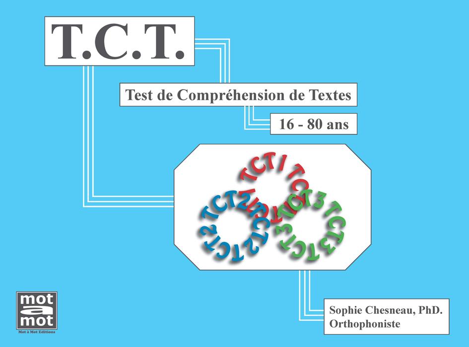 Notice Bibliographique Tct Test De Compréhension De Textes