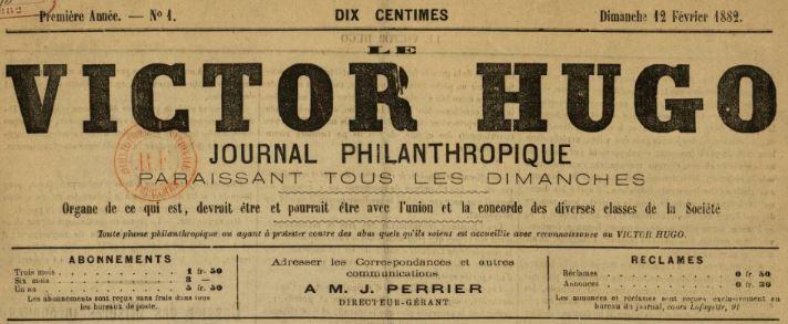Photo (BnF / Gallica) de : Le Victor Hugo. Lyon, 1882-. ISSN 2139-8909.