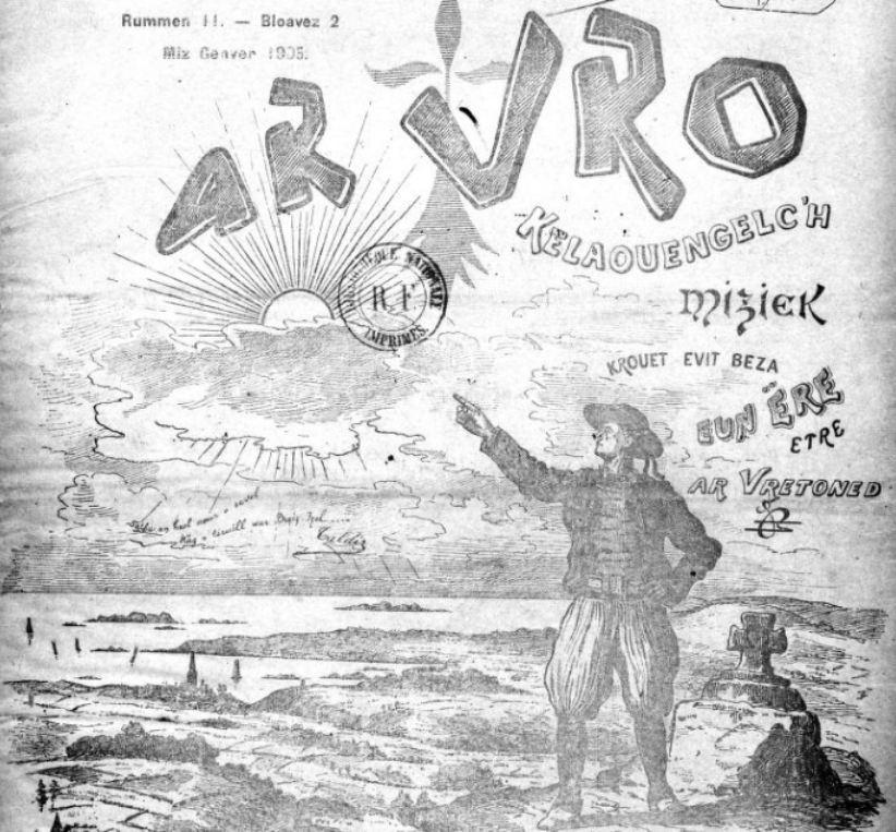 Photo (BnF / Gallica) de : Ar Vro. Montroulez, 1904-[1914?]. ISSN 1962-5944.
