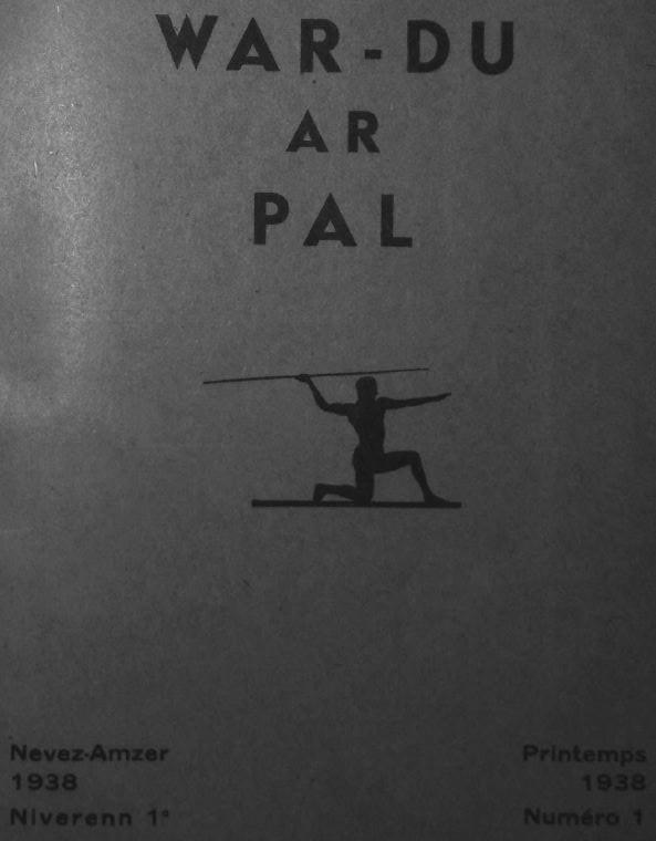 Photo (Institut de documentation bretonne et européenne) de : War-du ar pal. Plonévez-du-Faou, 1938-1939. ISSN 2140-416X.