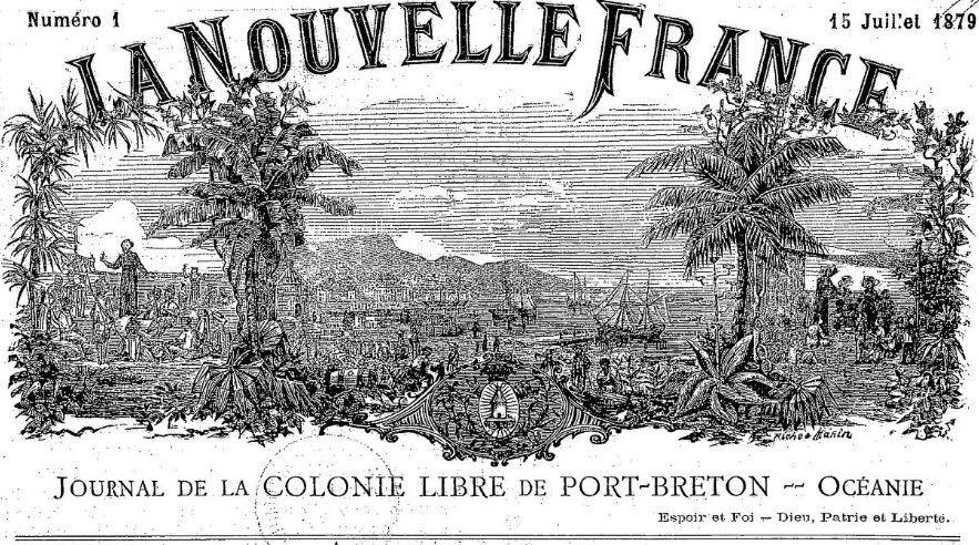 La Nouvelle France Marseille 1879 1885 Issn 2133 0395