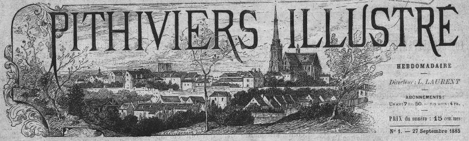Photo (BnF / Gallica) de : Pithiviers illustré. Pithiviers, 1885. ISSN 2134-9924.