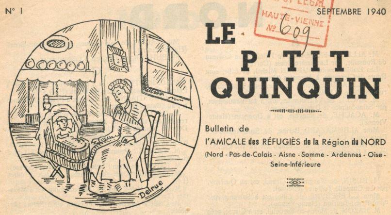 Photo (BnF / Gallica) de : Le P'tit Quinquin. Limoges, 1940-[1941 ?]. ISSN 2133-4641.