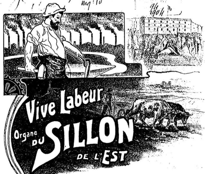 Photo (BnF / Gallica) de : Vive labeur. Belfort, 1904-[1920 ?]. ISSN 2106-1769.