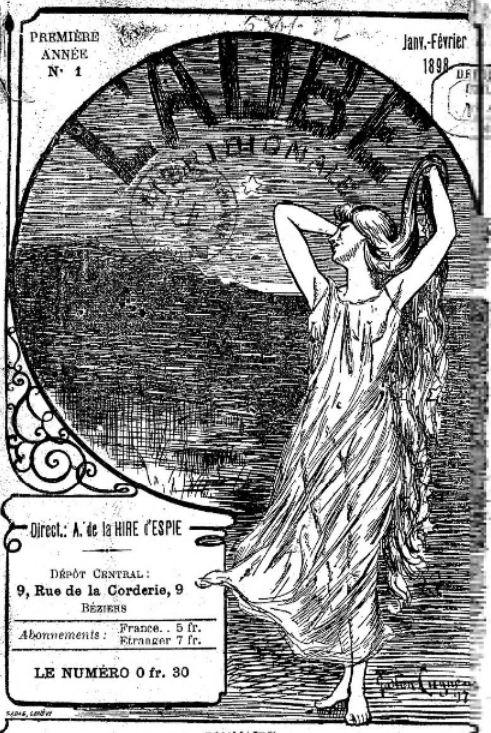 Photo (BnF / Gallica) de : L'Aube méridionale. Béziers, 1898-1899. ISSN 0996-083X.