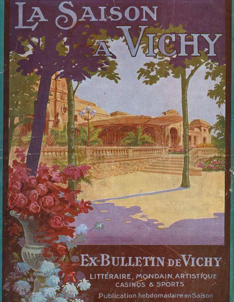 Photo (BnF / Gallica) de : La Saison à Vichy. Vichy, 1921-[1932 ?]. ISSN 2137-7197.