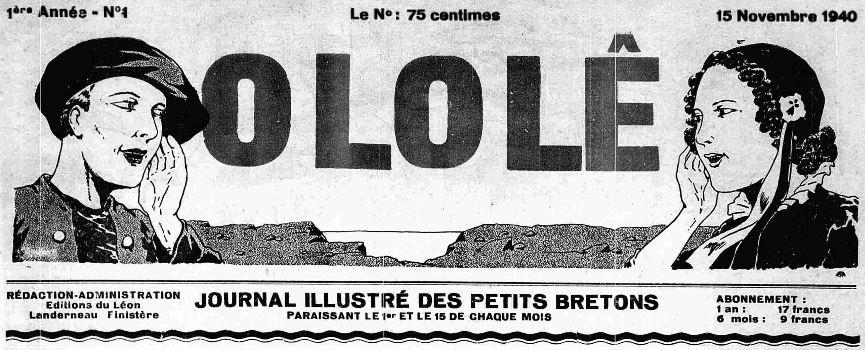 Photo (Finistère. Archives départementales) de : O lo lê. Landerneau, 1940-1944. ISSN 2133-2274.