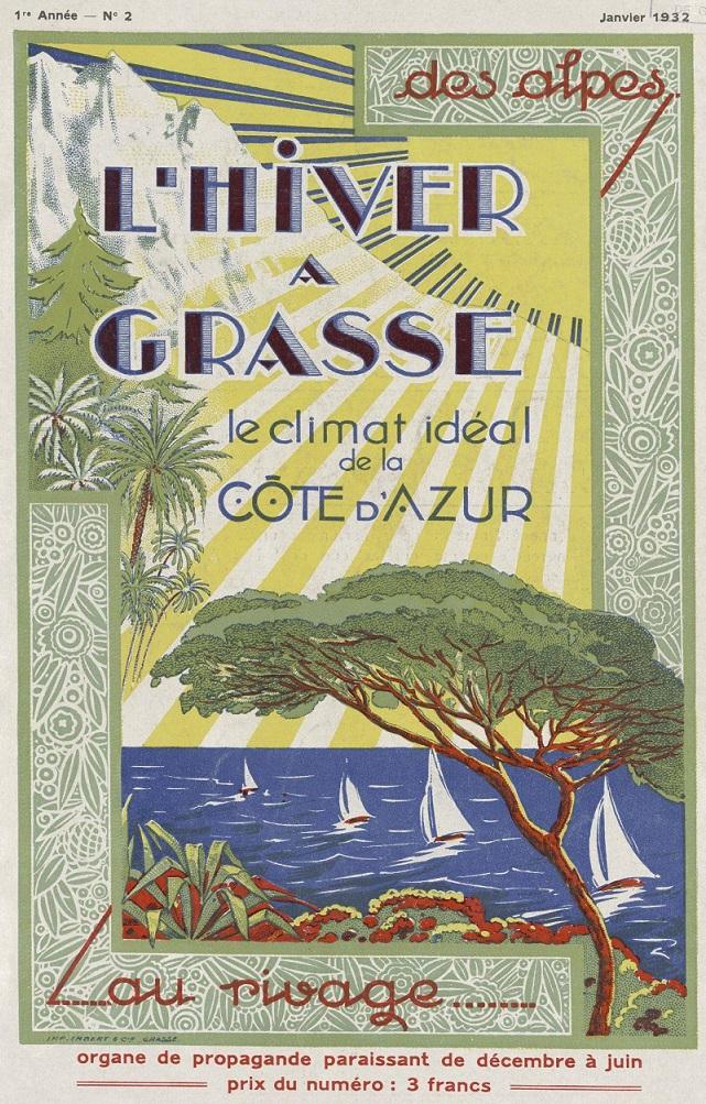 Photo (Bibliothèque municipale (Grasse, Alpes-Maritimes)) de : L'Hiver à Grasse. Grasse, 1931-[1936 ?]. ISSN 0982-1961.