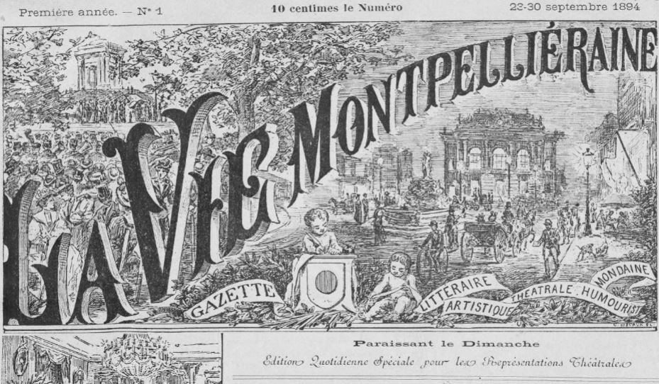 Photo (Occitanie) de : La Vie montpelliéraine. Montpellier, 1894-1930. ISSN 2139-9700.