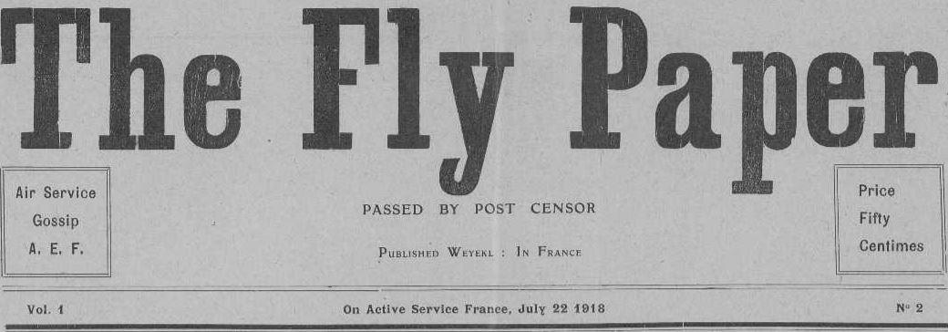 Photo (Vendée. Archives départementales) de : The Fly paper. On active service in France [Saint-Jean-de-Monts], 1918. ISSN 2491-634X.