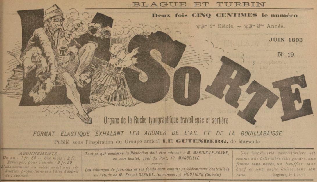 Photo (BnF / Gallica) de : La Sorte. Moûtiers, 1891-1909. ISSN 2138-2719.