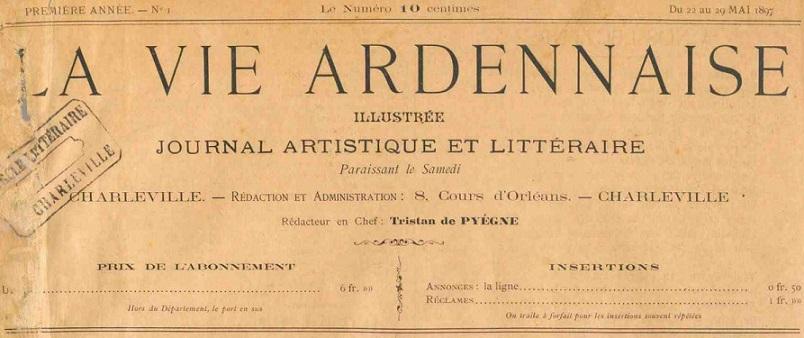 Photo (Ardennes. Archives départementales) de : La Vie ardennaise illustrée. Charleville, 1897-1903. ISSN 2025-4369.