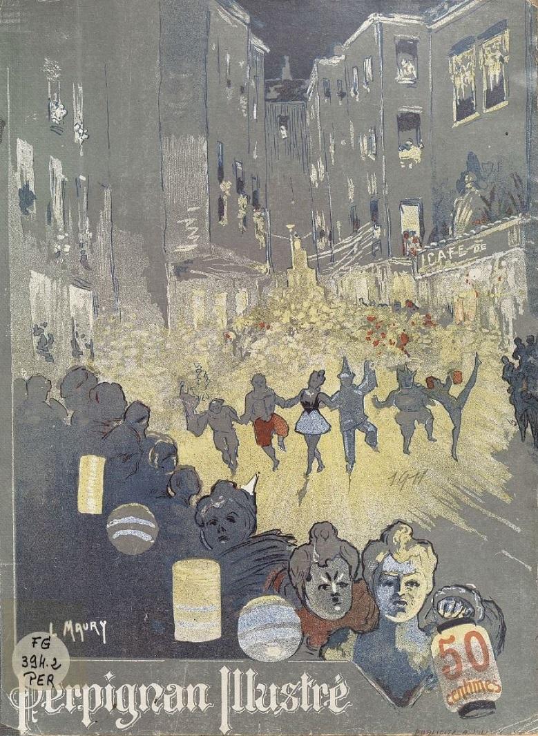 Photo (Université de Perpignan (1971-....). Bibliothèque) de : Perpignan illustré. Perpignan: Comité des fêtes, 1910-1913. ISSN 2491-6382.
