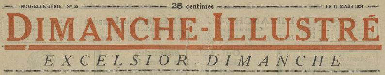 Photo (Cité internationale de la bande dessinée et de l'image (Angoulême)) de : Dimanche illustré. Paris, 1923-1944. ISSN 1255-9962.