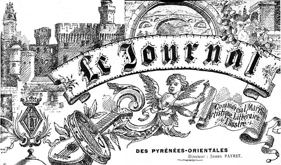 Photo (Médiathèque (Perpignan)) de : Le Journal des Pyrénées-Orientales. Perpignan, 1896-1914. ISSN 2130-7865.