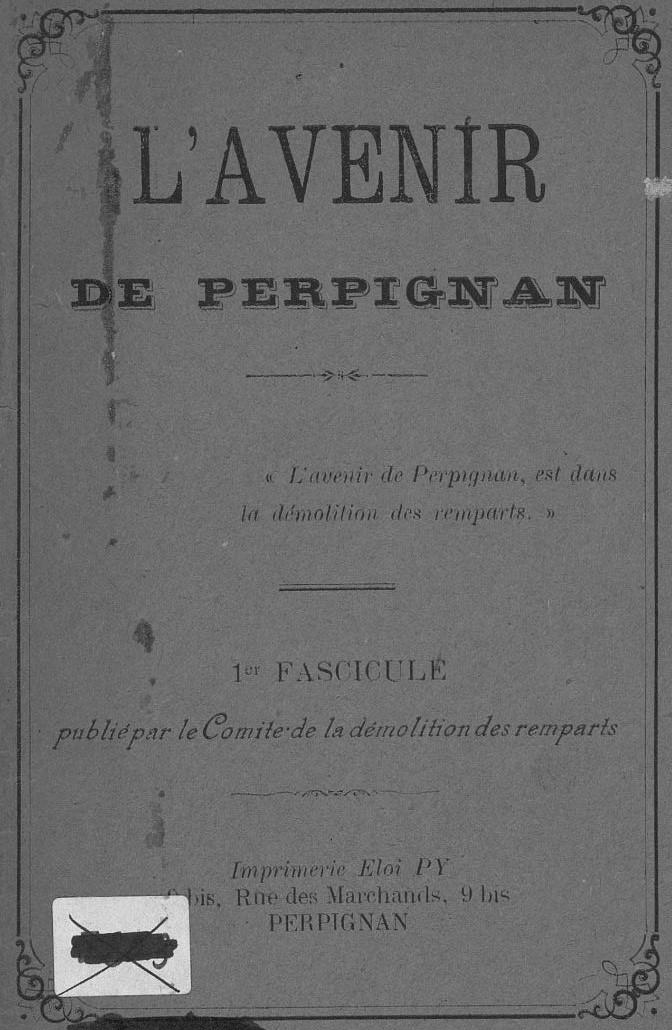Photo (Occitanie) de : L'Avenir de Perpignan. Perpignan, 1892. ISSN 2121-5170.