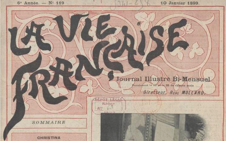 Photo (BnF / Gallica) de : La Vie française. Lyon, 1894-[1907 ?]. ISSN 1155-9837.